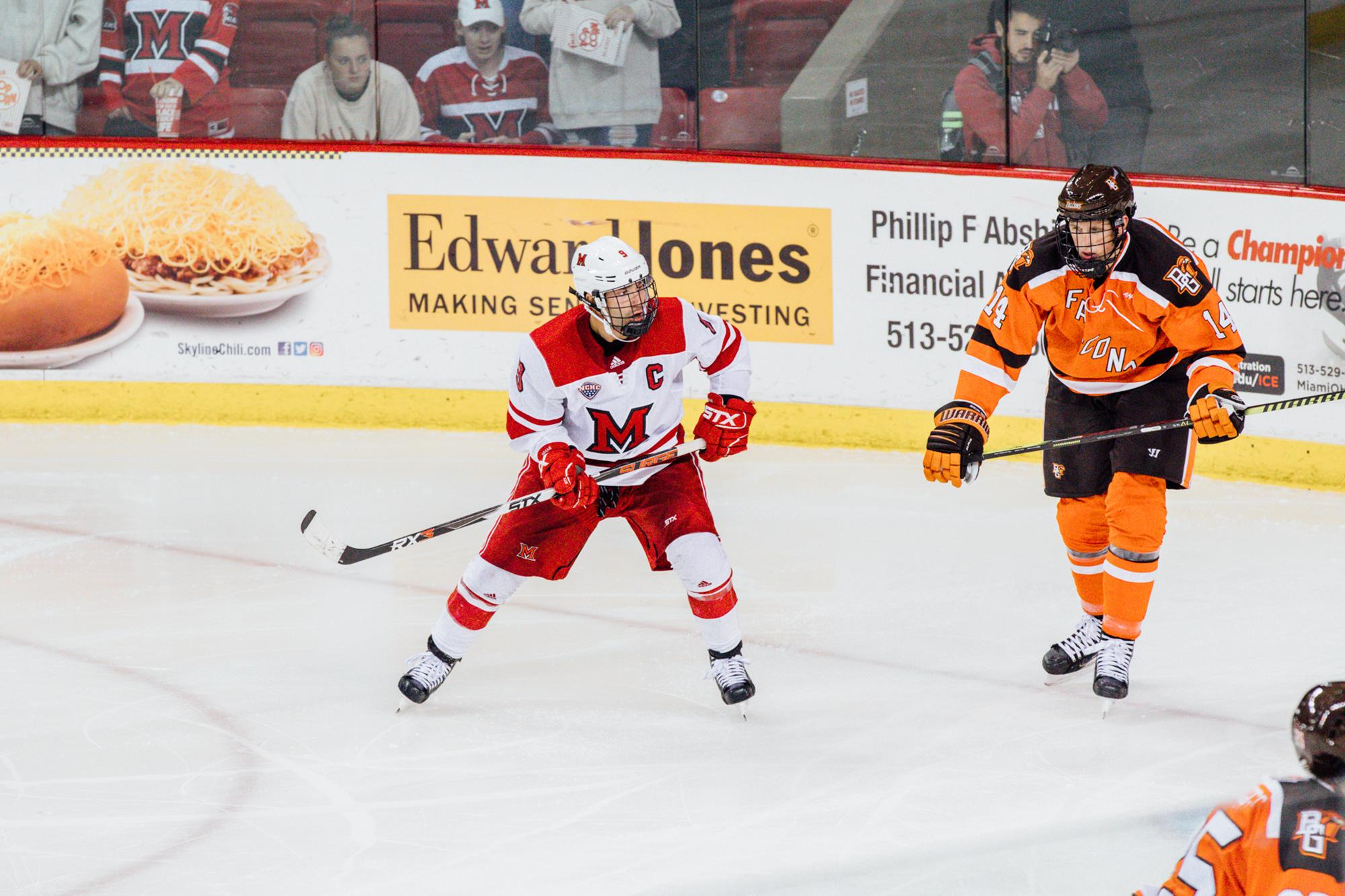 Green Tabbled NCHC Co-Forward of the Week