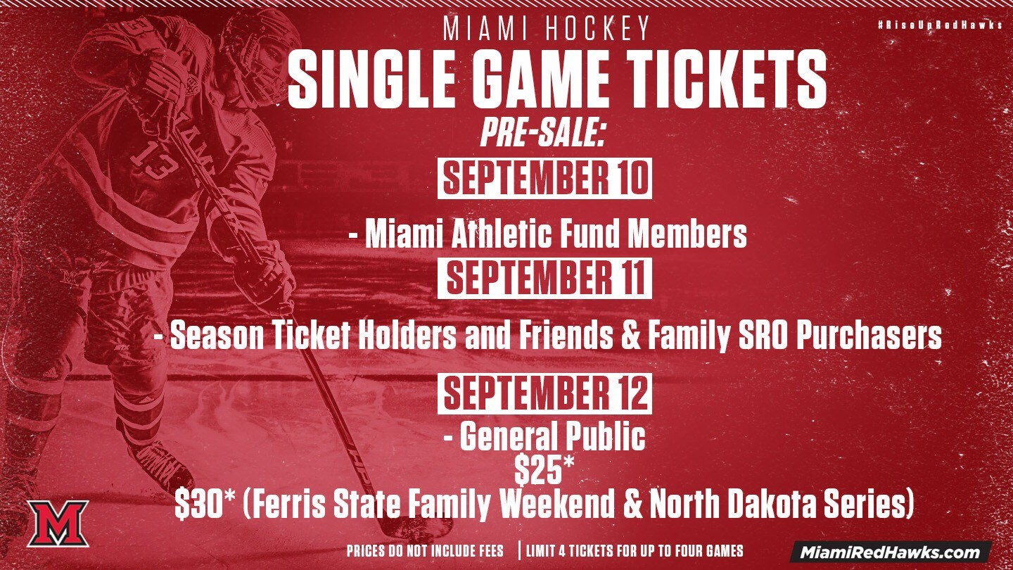 Single Game Hockey Tickets On Sale