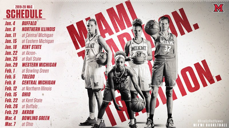Women S 2020 Mac Basketball Schedule Released Miami