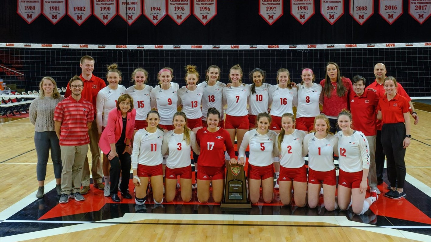 Women S Volleyball Miami University Redhawks