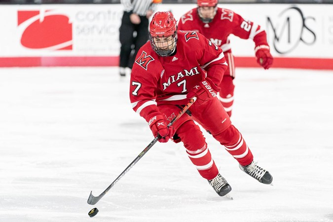 Hockey Falls in Season Finale to WMU, 4-2 - Miami University RedHawks